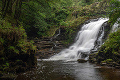Sgwd Isaf Clun-gwyn (geraintparry) Tags: nikond500 d500 nikon sigma 1750 sigma1750 south wales waterfall waterfalls landscape water outdoor falls long exposure river brecon nature naturephotography beacons national park geraint parry geraintparry sgwd isaf clungwyn