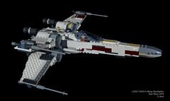 Star Wars LEGO 75218 X-Wing Starfighter (KatanaZ) Tags: starwars lego75218 xwingstarfighter lukeskywalker biggsdarklighter r2d2 r2q2 lego minifigures minifigs