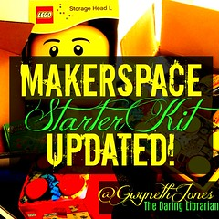 Makerspace-HEADTXGR (The Daring Librarian) Tags: makerspace starter kit green head construct