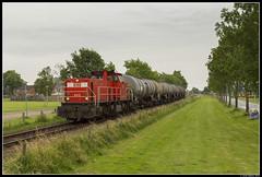 DB Cargo 6413, Uithuizermeeden (J. Bakker) Tags: db dbc cargo 6400 6413 62333 uithuizermeeden nederland