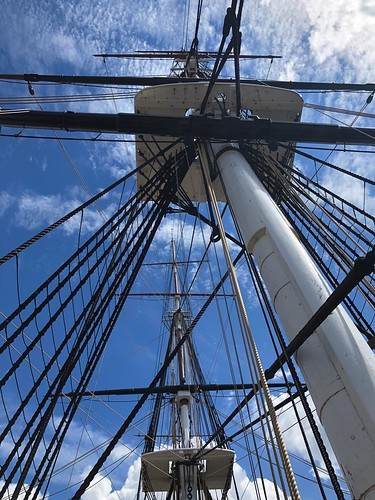 Masts and rigging, USS Constitution