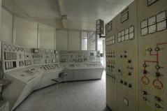 Grey Control Room