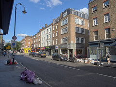 Goodge Street. 20180819T16-13-17Z (fitzrovialitter) Tags: peterfoster fitzrovialitter city camden westminster streets rubbish litter dumping flytipping trash garbage urban street environment london fitzrovia streetphotography documentary authenticstreet reportage photojournalism editorial captureone olympusem1markii mzuiko 1240mmpro microfourthirds mft m43 μ43 μft geotagged oitrack exiftool linearresponse