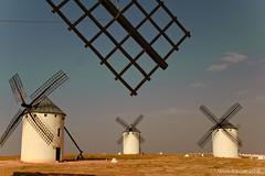 Molinos (Martin Kastar) Tags: atardecer molinos windmills cielo sky paisaje castillalamancha campodecriptana landscape sunset quijote cervantes