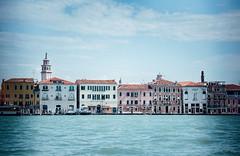 Venice in High Key (kurtwolf303) Tags: 2018 italien stadt venedig italy italia wasser water venezia venice sky himmel buildings high key gebäude architektur architecture city cityscape nikon nikond5500 kirchturm belltower