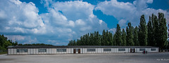 2018 - Germany - Dachau - Camp Barracks (Ted's photos - Returns Late November) Tags: 2018 cropped dachau germany nikon nikond750 nikonfx tedmcgrath tedsphotos vignetting wideangle windows dachauconcentrationcamp dachaugermany barracks