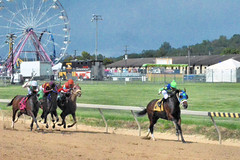 "2018-08-31 (73) r5 Wesley Ho on #4 Ghost Affair for the win (JLeeFleenor) Tags: photos photography maryland marylandracing timonium mdstatefair fair horseracing outside outdoors jockey جُوكِي ""赛马骑师"" jinete ""競馬騎手"" dżokej jocheu คนขี่ม้าแข่ง jóquei žokej kilparatsastaja rennreiter fantino ""경마 기수"" жокей jokey người horses thoroughbreds equine equestrian cheval cavalo cavallo cavall caballo pferd paard perd hevonen hest hestur cal kon konj beygir capall ceffyl cuddy yarraman faras alogo soos kuda uma pfeerd koin حصان кон 马 häst άλογο סוס घोड़ा 馬 koń лошадь"