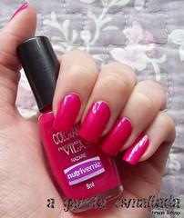 Esmalte Nazaré, da Colorama. (A Garota Esmaltada) Tags: agarotaesmaltada unhas esmaltes nails nailpolish manicure rosa pink nazaré colorama preciosasvilãs