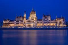 Hungarian Parliament Building Budapest (Torok_Bea) Tags: hungarianparliamentbuilding budapest parlament bluehour longexpo long nikon nikond7200 d7200 sigma sigmalens este kékóra beautiful pestiest manual budapestbluehour