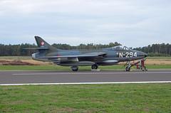 Hawker Hunter Foundation (DHHF) Hawker Hunter F6A N-294 (EK056) Tags: hawker hunter foundation dhhf f6a n294 kleine brogel air base ebbl belgian force days 09092018