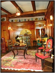 Sonnenberg Gardens & Mansion ~ Historic Park ~ Canandaigua NY - Living Area (Onasill ~ Bill Badzo) Tags: sonnenberg gardens mansion historic park canandaigua ny ontario county onasill nrhp queen anne architecture historical building interior fireplace moose victorian style finger lakes house turrets sky clouds 73001240 outdoor garden country period room recreation old vintage photo 331