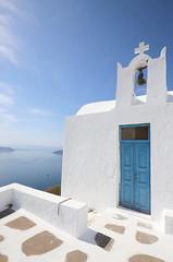 blue and white (chtimageur) Tags: thira santorini greece blue white sun holidays caldera walk hike spring canon 6d 1635 f4 mark ii