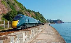 802005 & 802006 Teignmouth (Marky7890) Tags: gwr 802005 802006 class802 1c04 teignmouth railway devon rivieraline train iet