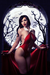 Vampirella (Wurmwood Photography) Tags: vampire vampirella vampress fantasy gothic goth beauty woman women lovely lady people portrait halloween cosplay bats spooky fall autumn ethereal magical magic myth costume makeup red monster creepy art darkart dark