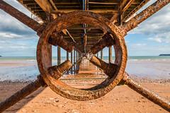 Paignton pier (Steve M Photography) Tags: paignton pier devon seaside sea boardwalk beach resort vacation holiday sand coast coastal coastline southcoast symmetry leadinglines vanishingpoints