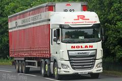 DAF XF John Raymond Transport Nolan CN18 UCR (SR Photos Torksey) Tags: transport truck haulage hgv lorry lgv logistics freight road commercial vehicle traffic daf xf john raymond nolan