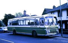 Slide 121-67 (Steve Guess) Tags: byfleet surrey england gb uk bus coach wheelchair lift plaxton xoo878l a245 parvisroad panorama elite bristol relh queenshead 2203
