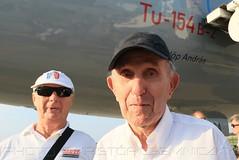 Kiss Tibor, MALÉV kapitány, aki 1973.09.05-én Dr. Fülöp Andrással hazarepülte az első TU-154-est (KristofCs) Tags: malev tu154 halca ferihegy budapest christening ty154