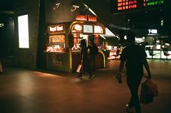 台中高鐵站 (briandodotseng59) Tags: 台灣 台中 人 底片 菲林 asia taiwan east street streetphoto daily light true culture night station olympus 35sp fujifilm c200 film analog old classic color coth5 red yellow black city urban