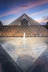 Paris_Louvre_20161021_0141 (ivan.sgualdini) Tags: canon city france francia louvre museo museum parigi paris piramide pyramid sunset tramonto îledefrance fr