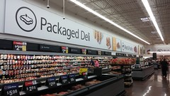 I always think that's an olive on that sandwich icon, and it makes me sad every time (Retail Retell) Tags: hernando ms walmart desoto county retail black decor 20 supercenter store 5419 interior exterior quirks