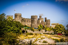 ConwyCastle2018.08.31-25 (Robert Mann MA Photography) Tags: conwycastle conwy northwales 2018 summer friday 31staugust2018 arrivatrainswales class158 supersprinter class158supersprinter class67 mark3 mark3carriages dvt drivingvantrailer virgintrains class221 supervoyager class221supervoyager train trains railway railways castle heritage landscape