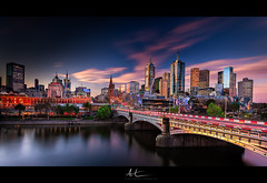 www.AleksTrpkovski.com - Melbourne Cityscape with MPE 14.09.2018 (Suvco) Tags: melbournecbd trainsinmelbourne trafficjamsmelbourne publictransport hometime thebestfortoday nikoncameras nikond800 wideanglelense colorful cartrailsphotography wwwalekstrpkovskicom melbournevictoriaaustralia nearmcgmelbourne themostliveablecityintheworld sunset lighttrails carlights longexposure ndfilter williambarakbridge sunshinesunset pinksky victoriasunset bluesky beautifulsunset amazingsunset colourful perfectreflection adayinaparadise heaven heavenisplaceonearth clearsky beforethecloudscome perfectbluehour blueredpink moodylandscapephotography visitmelbourne visitvictoria pastel pastelcolours visitaustralia photographyparadise colors colours hues inthewater wintertime water warmcolours color strongforeground leadinglines towardsthecity aplacetobe interesting stunning magnificent nikon17mm nikon1735mm nicefilters polarisingfilter ndfilters 10stop neutraldensityfilter lookout tourist tourism touristplace bepartofaustralia nisifilters
