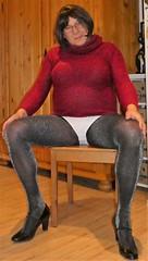 180220_56 (mathildecross) Tags: crossdress crossdressing crossdresser cd pantyhose pumps transvestit