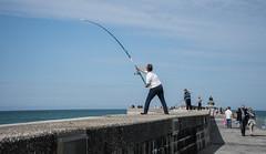 fishersmen (cedric_cedric) Tags: action sport pêcheur pêche mer manche dieppe