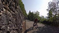 The Climb To The Tunnel (29in.CH) Tags: summer allroad road bike ride 19082018 climb sun rockwall