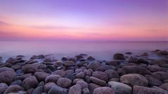 Boulder sunset (Jarno Nurminen) Tags: twilight emäsalo porvoo finland olympus longexposure rocks sunset