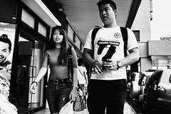 Target (Meljoe San Diego) Tags: meljoesandiego fuji fujifilm x100f streetphotography people umbrella candid monochrome philippines