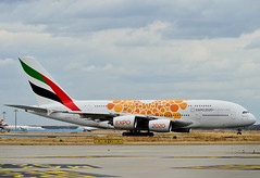 A6-EOU Emirates Airbus A380-800 (czerwonyr) Tags: a6eou emirates airbus a380800 fra eddf