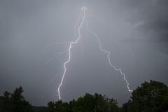 Power Up ! (Lolo_) Tags: lightning storm éclair foudre dévoluy agnières montagne moutain ramifié hautesalpes 05 orage thunderstorm strike france électricité electric arbres trees
