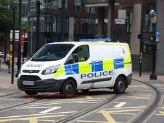 MF18XGH (peeler2007) Tags: mf18xgh ford transit fordtransit 999 police ukpolice gmp greatermanchesterpolice