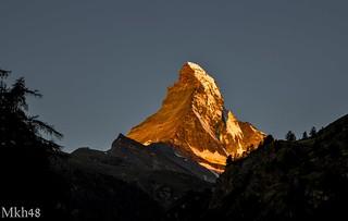 Matterhorn (4.478m) Valais