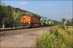 BNSF 5912 (Justin Hardecopf) Tags: bnsf burlingtonnorthernsantafe 5912 ge es44ac j boeing 737 special amazonia missouri railroad train