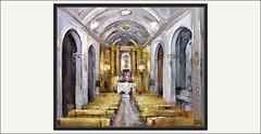 CASTELBELL I EL VILAR-PINTURA-INTERIOR-ESGLESIA-VILAR-PAISATGES-CATALUNYA-PINTURAS-IGLESIA-INTERIORES-MISTICA-SILENCIO-ARTISTA-PINTOR-ERNEST DESCALS (Ernest Descals) Tags: castellbell vilar castellbellielvilar pinturas pintures cuadros cuadro quadres quadre art arte artwork franciscano feligreses esglesia iglesia iglesias interior interiores altar arcos composicion sencillez esencias bages barcelona catalunya catalonia church cataluña pobles catalans pueblos catalaes village landscaping landscape interiors mistica misticos silencio paint religious poble municipi municipios pintar pintando pintant painting paintings plastica bancos boveda ojos luz light sobriedad sobrios tonos gamas colores ocres grises profundidad pintors pintores artistes painter painters ernestdescals celestial
