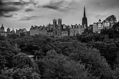 Skyline (michael.mu) Tags: leica nordicvisitor scotland architecture 50mm leicaaposummicronm50mmf2 edinburgh skyline blackandwhite monochrome bw silverefexpro