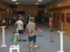 Exhibition at l'atelier à La Palme