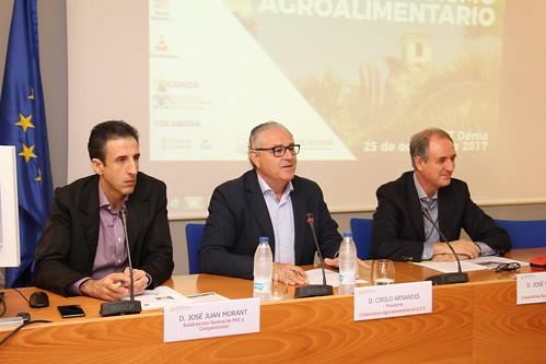 "Jornada ""Retos del Cooperativismo Agroalimentario"". Denia (25-10-2017)"