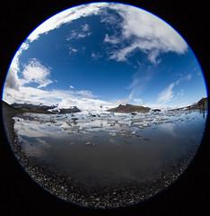 The Three States of Water (thomas_delora) Tags: fjallsárlón iceland glacier fjallsárlónglaciallagoon fisheye ted