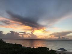 Stillness of a summer sunset (remiklitsch) Tags: iphone panorama colorful color island remiklitsch sea sand sun turksandcaicos caribbean august sunset summer