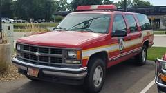 Hazmat 1 (Central Ohio Emergency Response) Tags: newark ohio fire division chevy suburban truck hazmat suv
