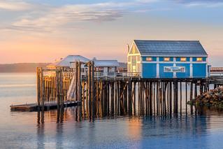 Sidney Pier Golden hour