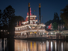 Mark Twain Riverboat 9_1_2018 (Domtabon) Tags: disneyland dl dlr disney disneylandresort marktwain roa riversofamerica mousewait