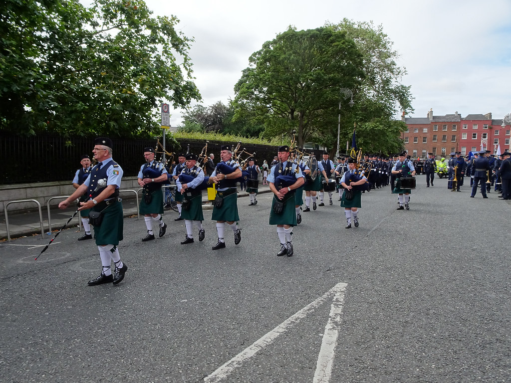 NATIONAL SERVICES DAY [PARADE STARTED OFF FROM NORTH PARNELL SQUARE]-143669