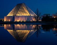 Aga Khan (Rainfire Photography) Tags: agakhan reflections museum night evening nikon northyork