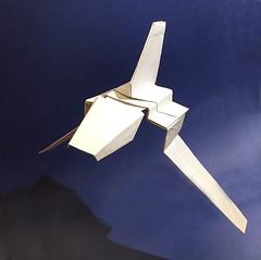 Imperial shuttle Tydirium origami New photo for the new diagram (Matayado-titi) Tags: sugamata spaceship starship starwars space starfighter shusugamata shuttle tydirium imperial origami diagram matayado