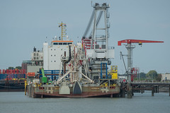 Giant 7 _DVL2983 (larry_antwerp) Tags: 9760017 giant7 crane vlissingen zeeland nederland netherlands schip ship vessel 船 船舶 אונייה जलयान 선박 کشتی سفينة